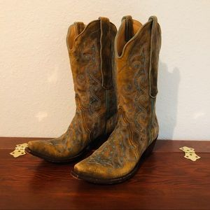 Old Gringo brand cowgirl boots